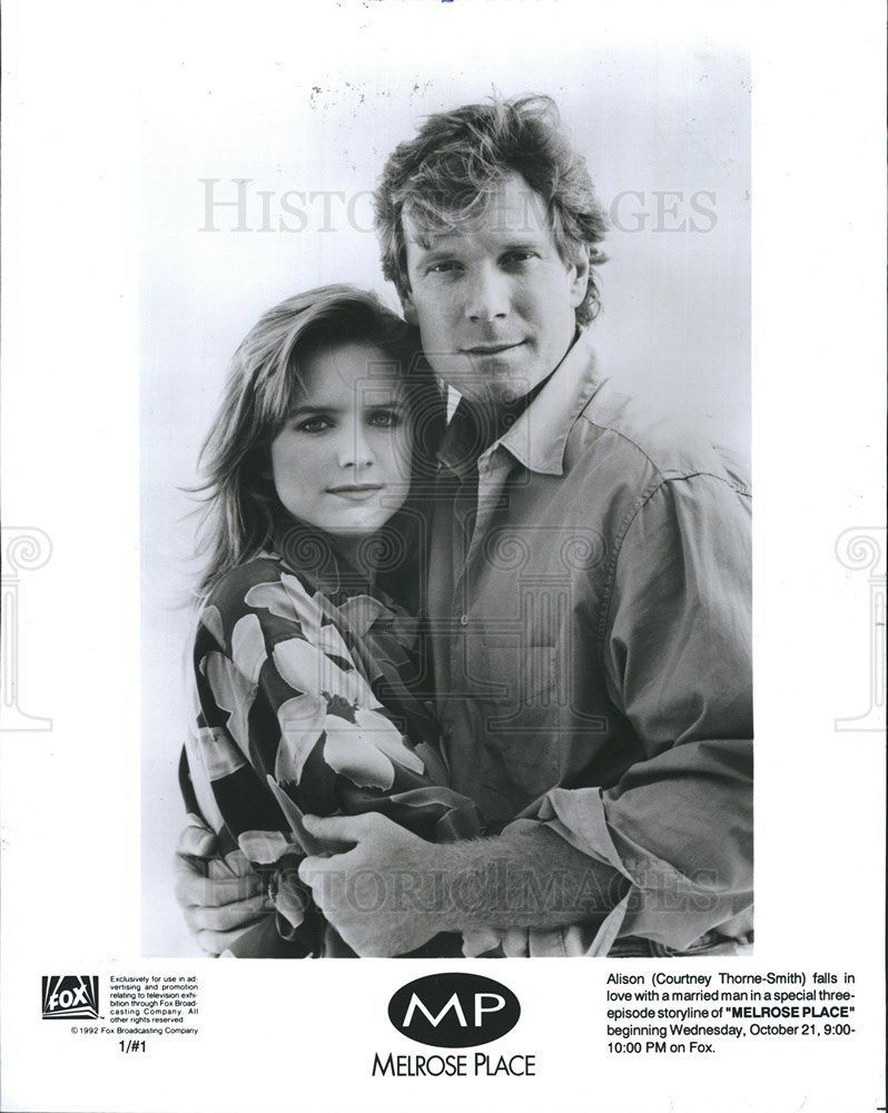 1992 Press Photo Courtney Thorne-Smith Melrose Place