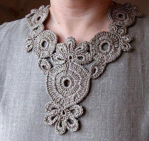 Knitting Jewelry Patterns : Pinterest crochet