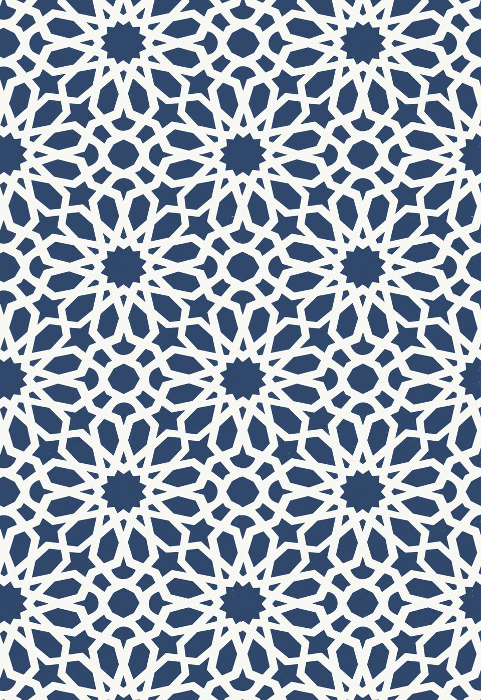 Turkish Design Wallpaper : Agadir screen in lapis  http fschumacher