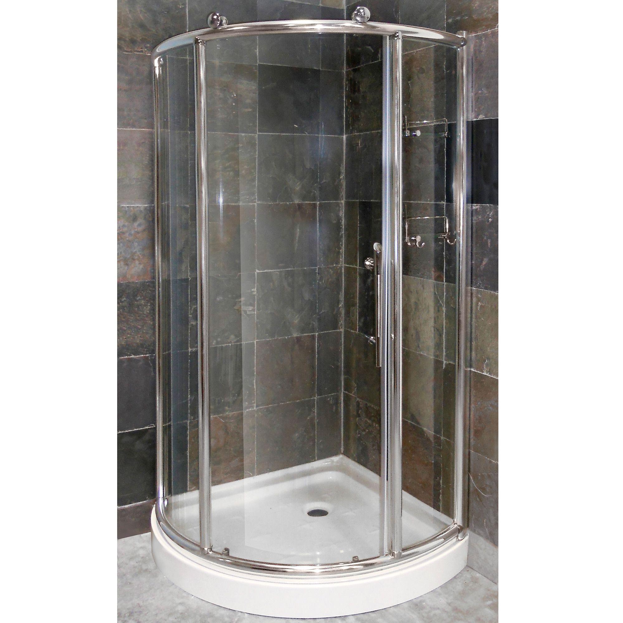 Round Corner Shower Door Rollers Corner Shower Corner Shower Doors Shower Doors