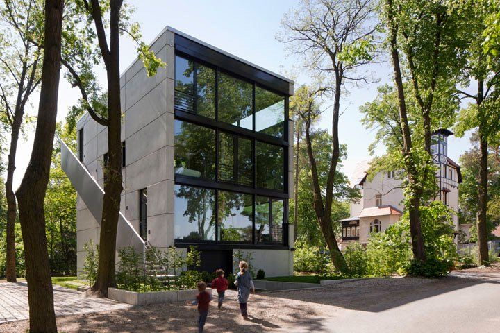 Container Haus Berlin haus o by ruge architekten architecture we