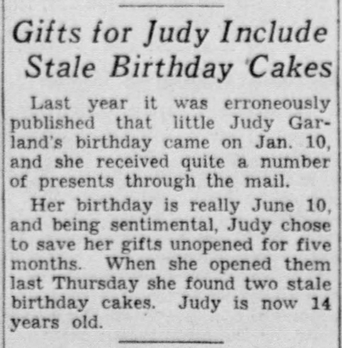 On This Day In Judy Garland S Life And Career June 15 Judy Garland News Events Judy Garland Judy Garland