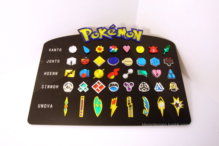 pokemon badges