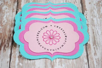 Ginas craft corner 10 diy business card ideas craft show ideas ginas craft corner 10 diy business card ideas reheart Image collections