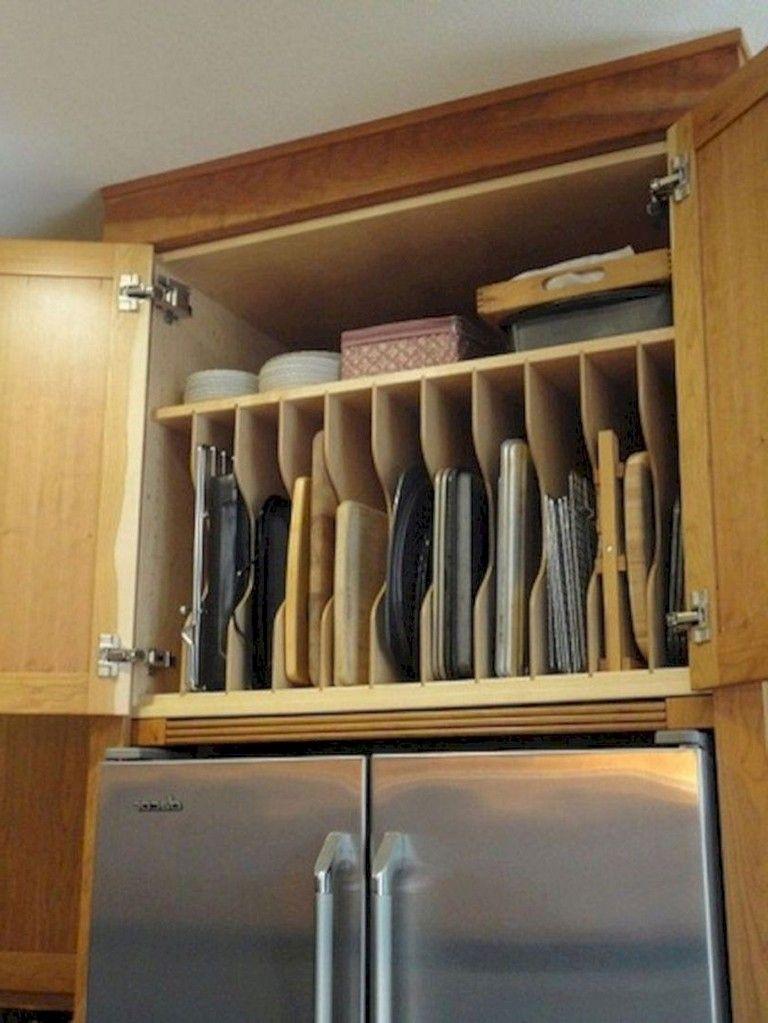 30+ Stunning Kitchen Cabinet Organization Ideas to Inspire #cabinetorganization
