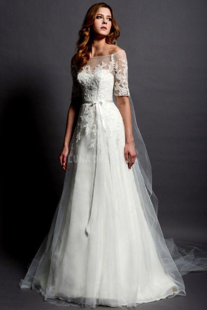 Atemberaubende Vintage Hochzeitskleid Ideen Inspiredluv (6 ...