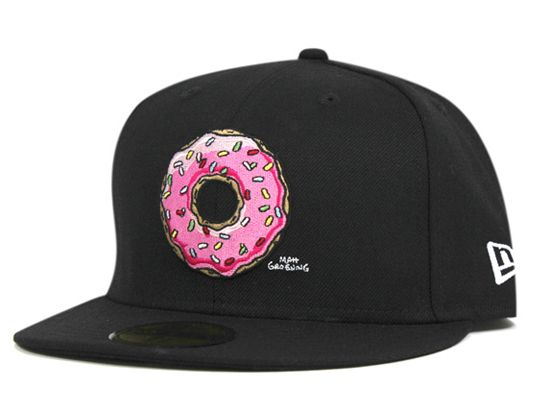3bdd91e5dfa Donut 59Fifty Fitted Cap THE SIMPSONS NEW ERA