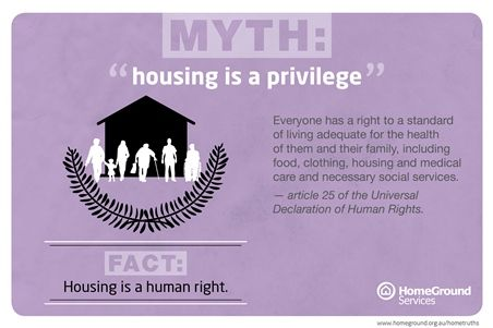 007 Myth about homelessness Social services, Declaration of