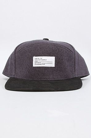 Publish The Scranton Cap in Charcoal : Karmaloop.com - Global Concrete Culture