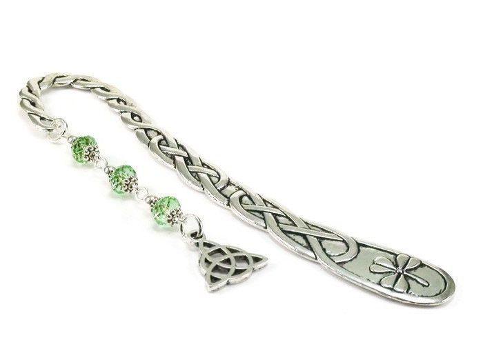 Green Celtic Bookmark