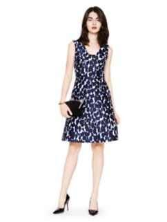 33f3aacd79f4 leopard print fit and flare dress by kate spade new york | Fash Bash ...
