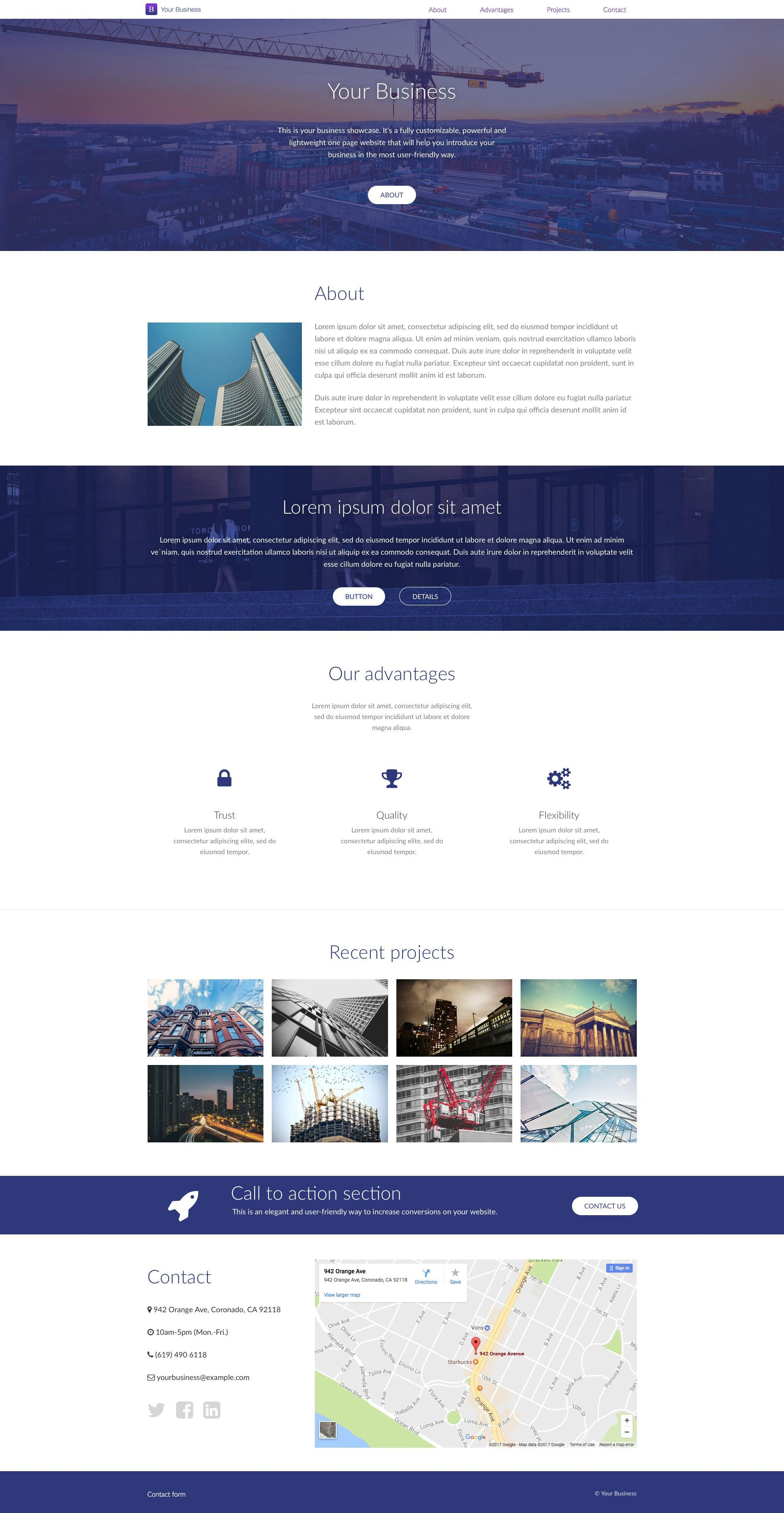 Your business is a free html5 one page website template which comes your business is a free html5 one page website template which comes with two different color style it will help you introduce your business in the most cheaphphosting Image collections