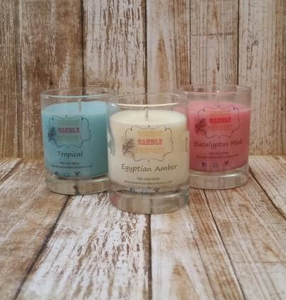 Set of 3 assorted soy votive candles. Fragrance varies by stock available.  Our scented votive candles are 3 ounces each and are available in any scent and color.  The candles are made from soy wax. The soy wax is made from soy beans grown in the USA. ...