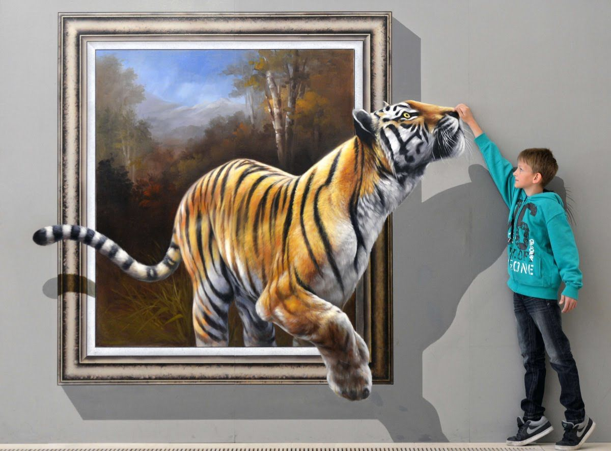 Best of 3d street art illusion interactive paintings for How to paint 3d