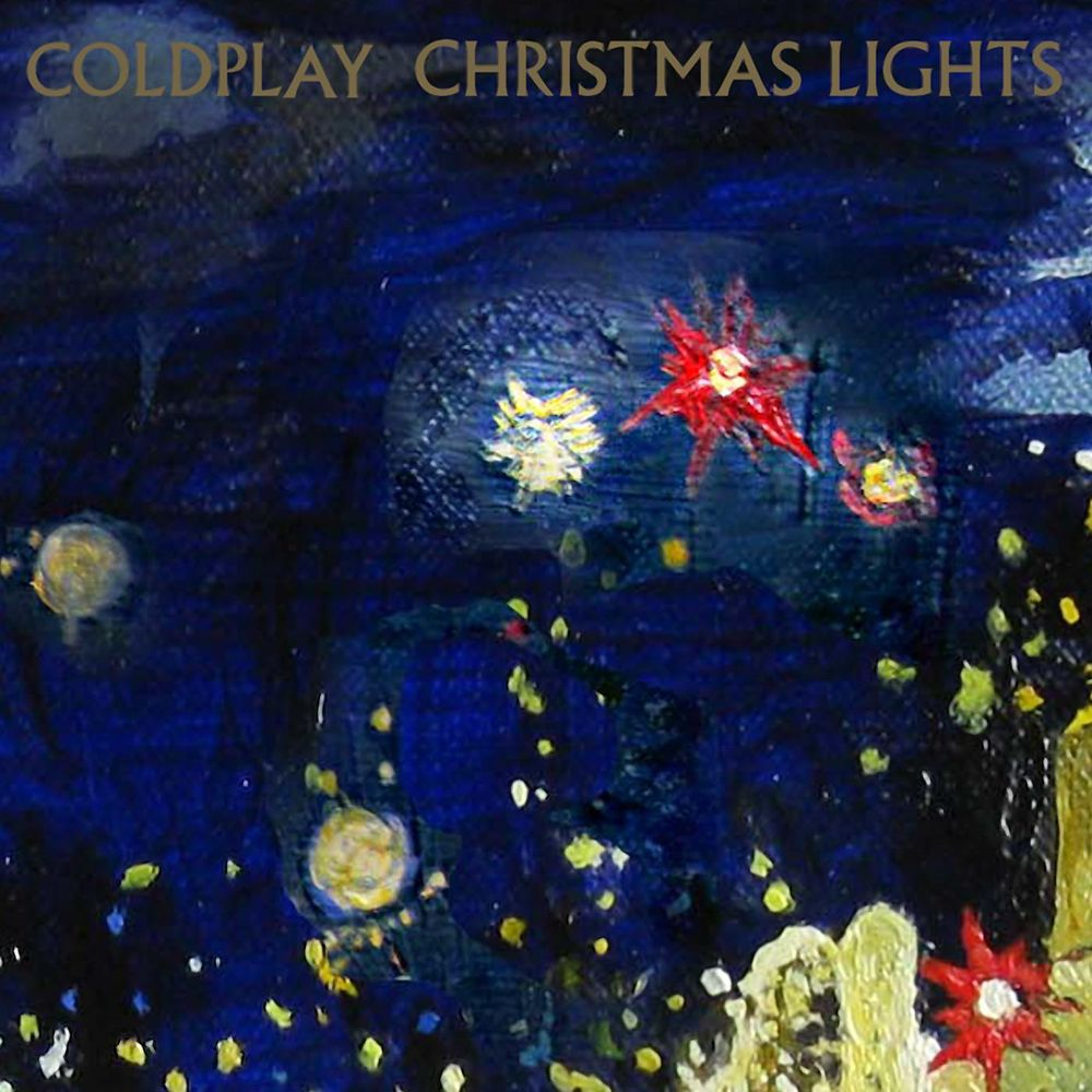 Coldplay Christmas Lights Coldplay, Christmas lights