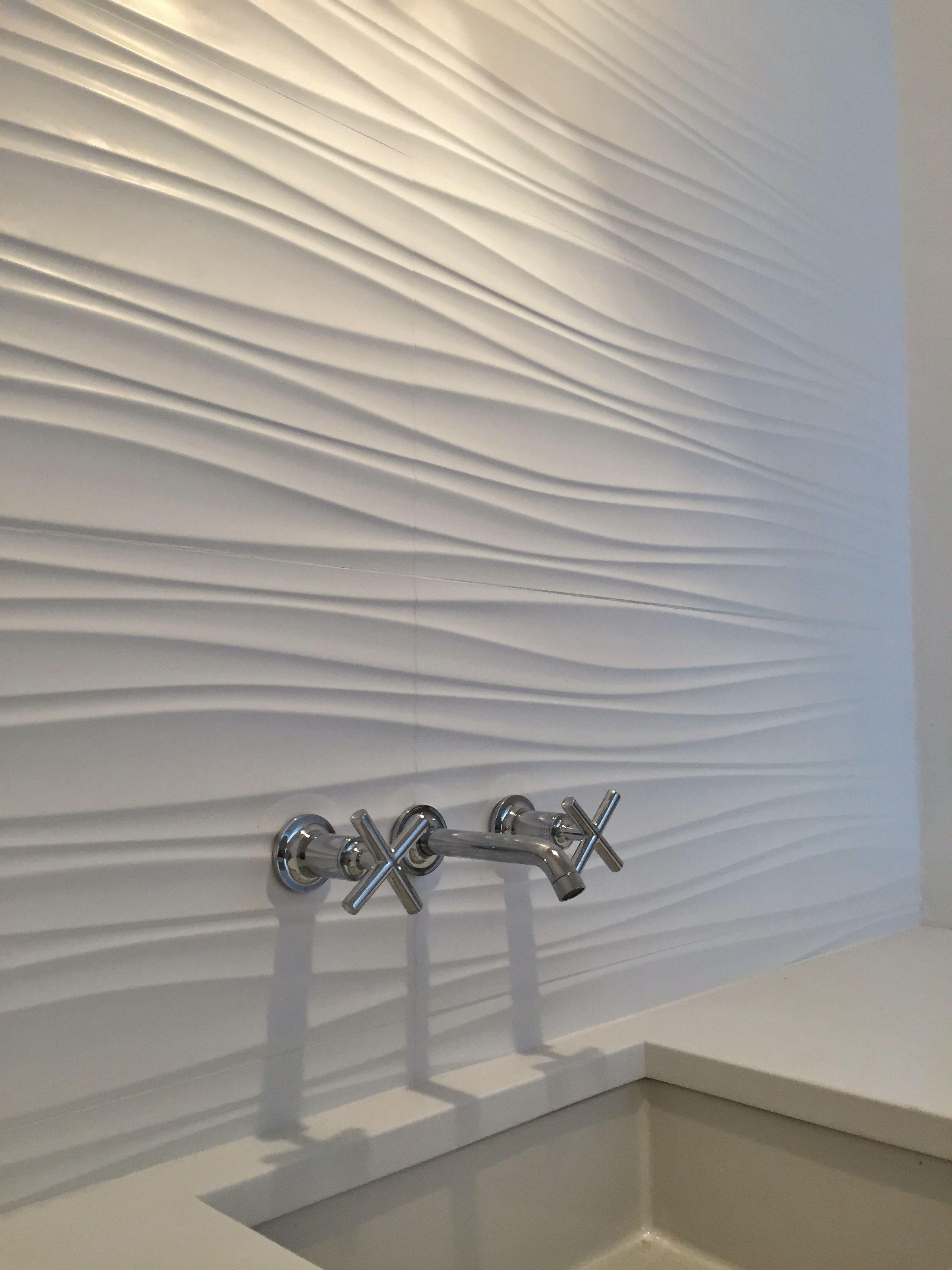 Beautiful Bathrooms · Powder Rm. Wall Tile