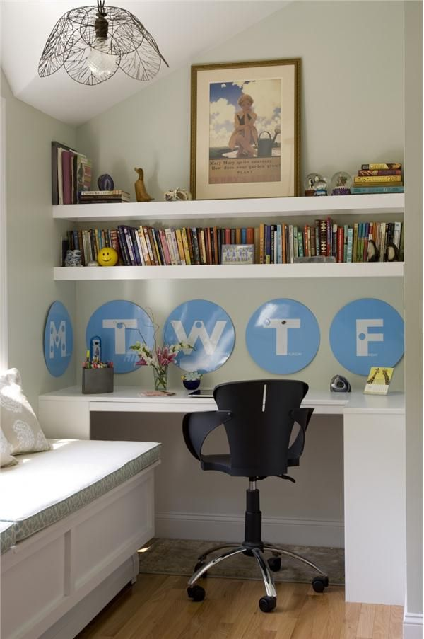 Contemporary (Modern, Retro) Home Office by Celi St.Onge
