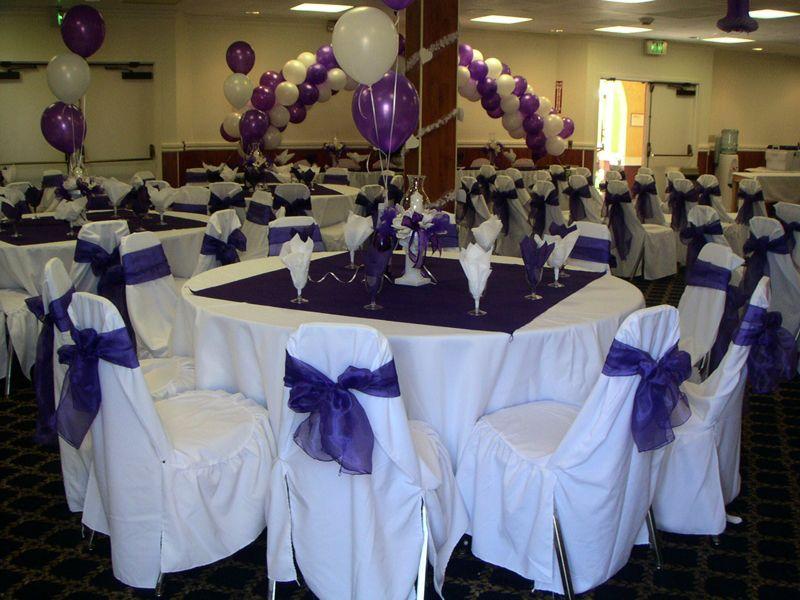 A Purple Extravaganza Color Themed Wedding Elegant Theme Ideas
