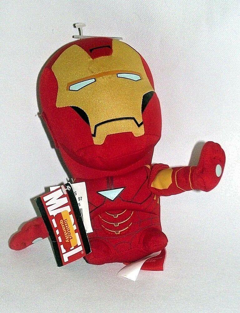 "NWT Funko Iron-Man Marvel Spider-Man Homecoming Hero Plushies 9/"" Stuffed Toy"