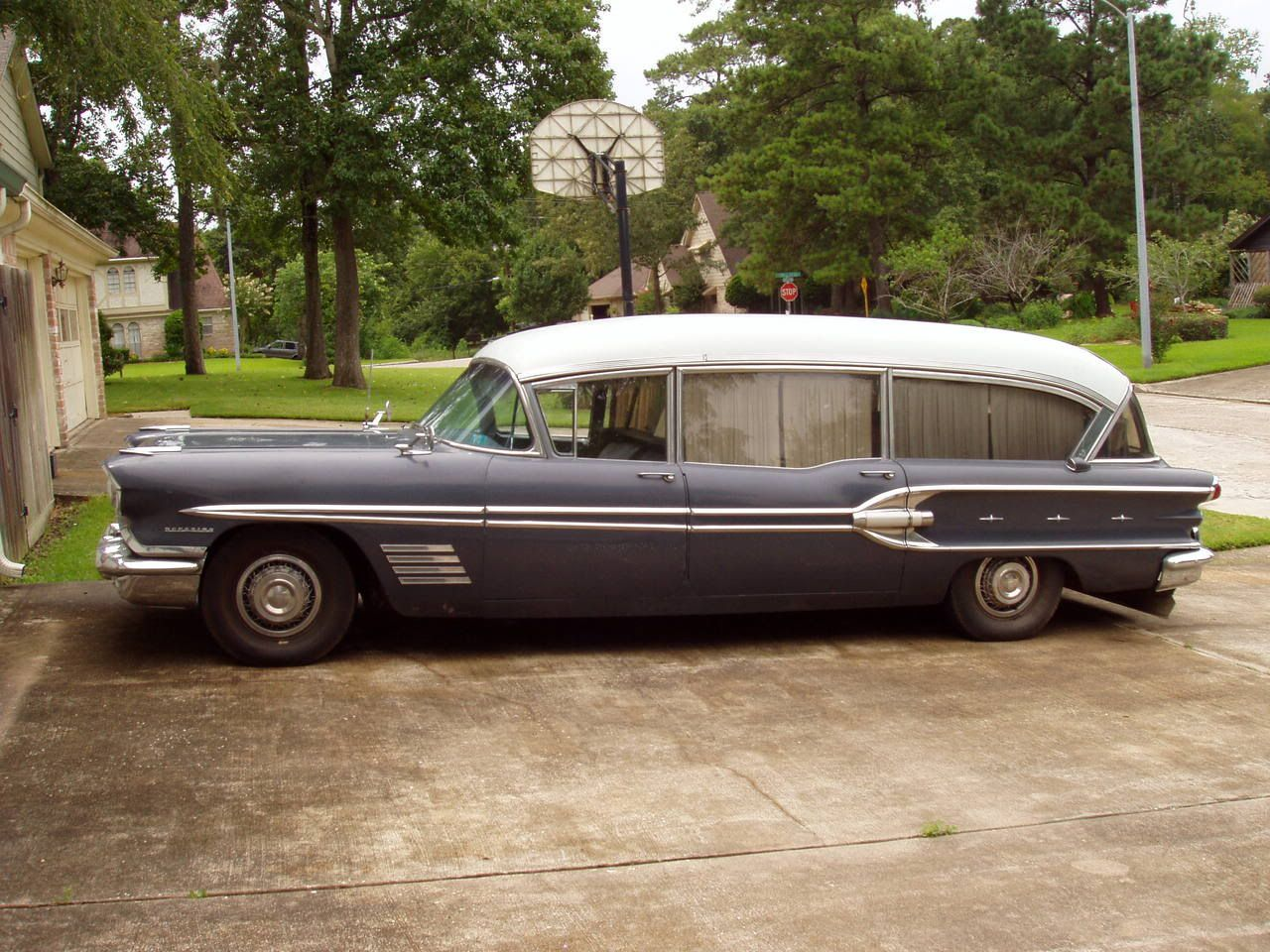 Matchless g 11 csr for sale 1958 on car and classic uk c544589 - 1958 Pontiac Hearse Very Rare