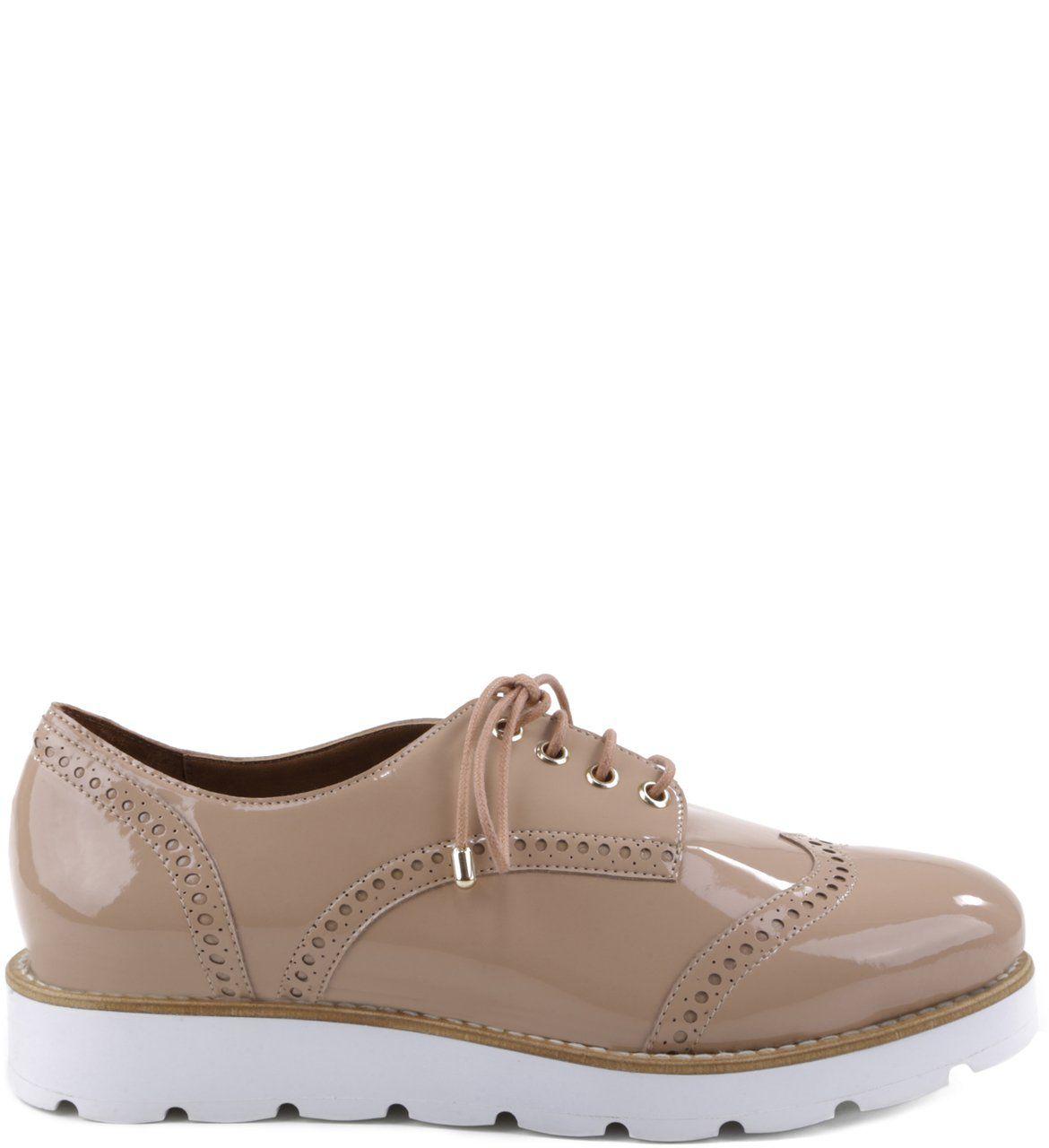 7c487a093 Oxford Solado-Branco Couro Nude-Rose | Arezzo | Calçados | Sapatos ...