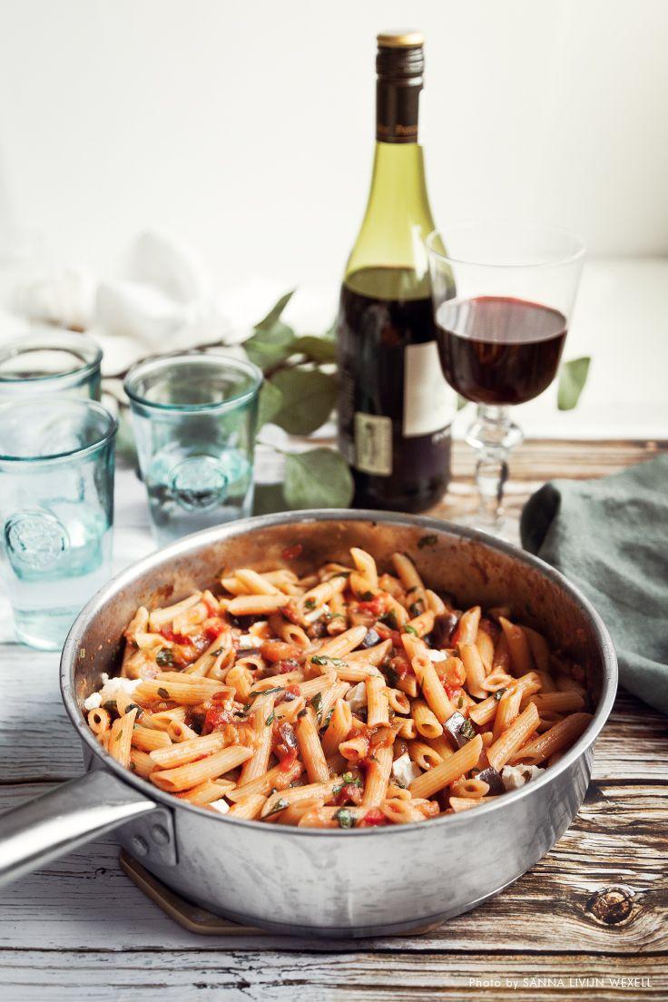 vegetarisk pastasås tomat