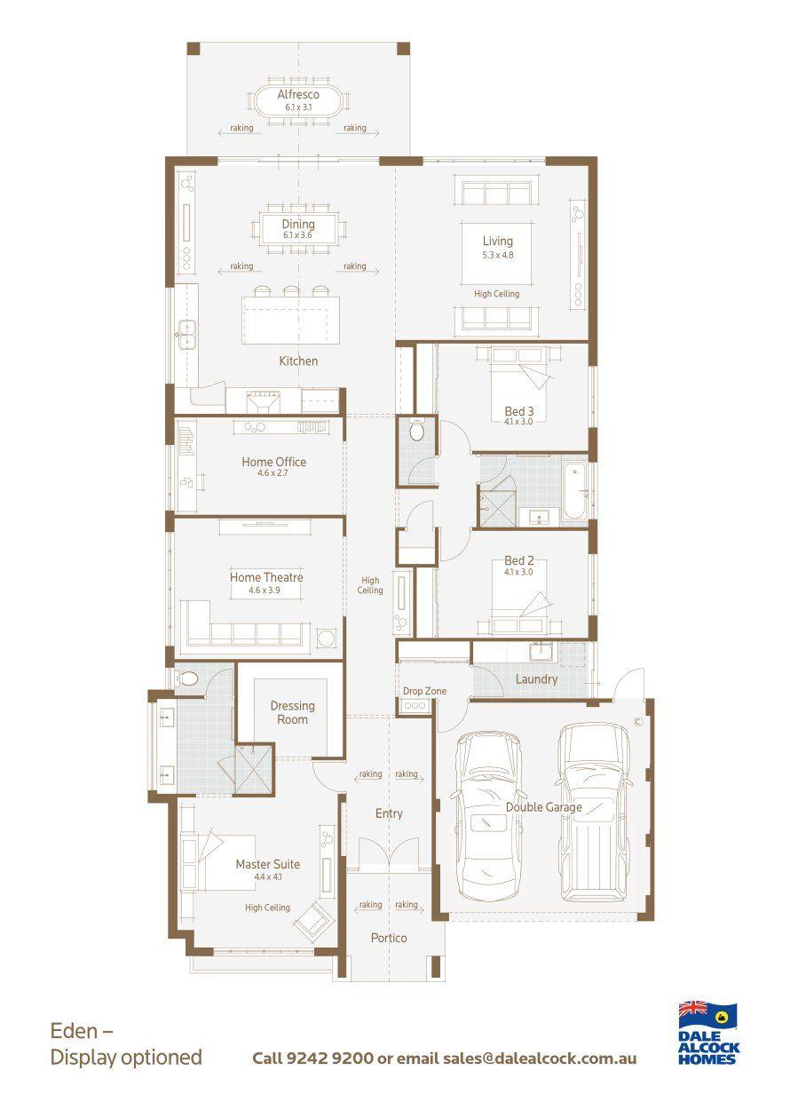 Eden Floorplan Floor Plan Design Floor Plans House Plans Australia