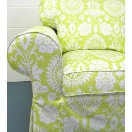 Custom IKEA slipcovers at knestingcom ikea ektorp sleeper sofa