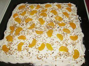 Mandarinen - Schnitten von Zauberfee | Chefkoch #peachcobblerpoundcake