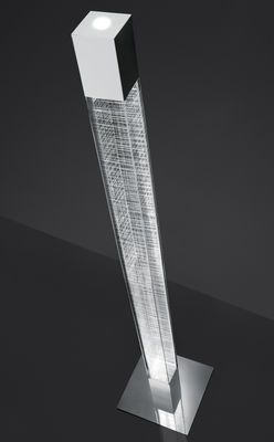 Floor Lamp Mimesi Led By Artemide Transparent Made In Design