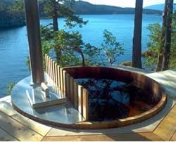 Photo of Image result for wood fired hot tub