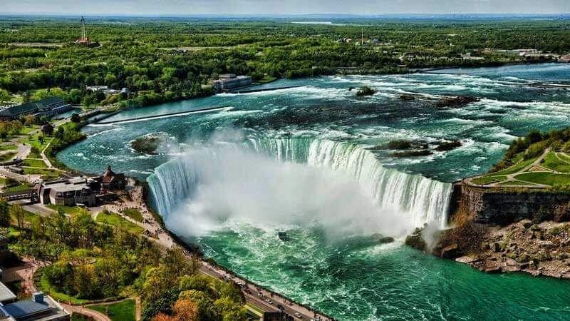 16 Pemandangan Air Terjun Dan Matahari 99 Lukisan Sketsa Gambar Pemandangan Alam Gunung Pantai Download Keindahan No Di 2020 Pantai Pemandangan Air Terjun Niagara
