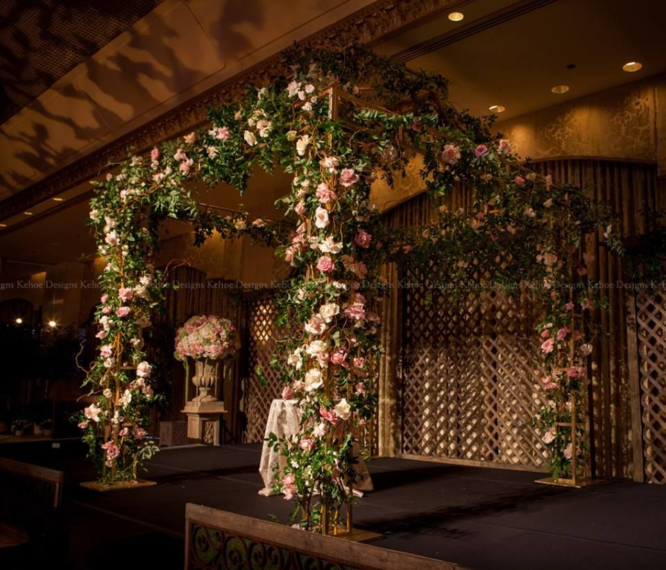 Love The Secret Garden Theme Of This Canopy By Kehoe Designs Secret Garden Theme Garden Backdrops Garden Theme Wedding