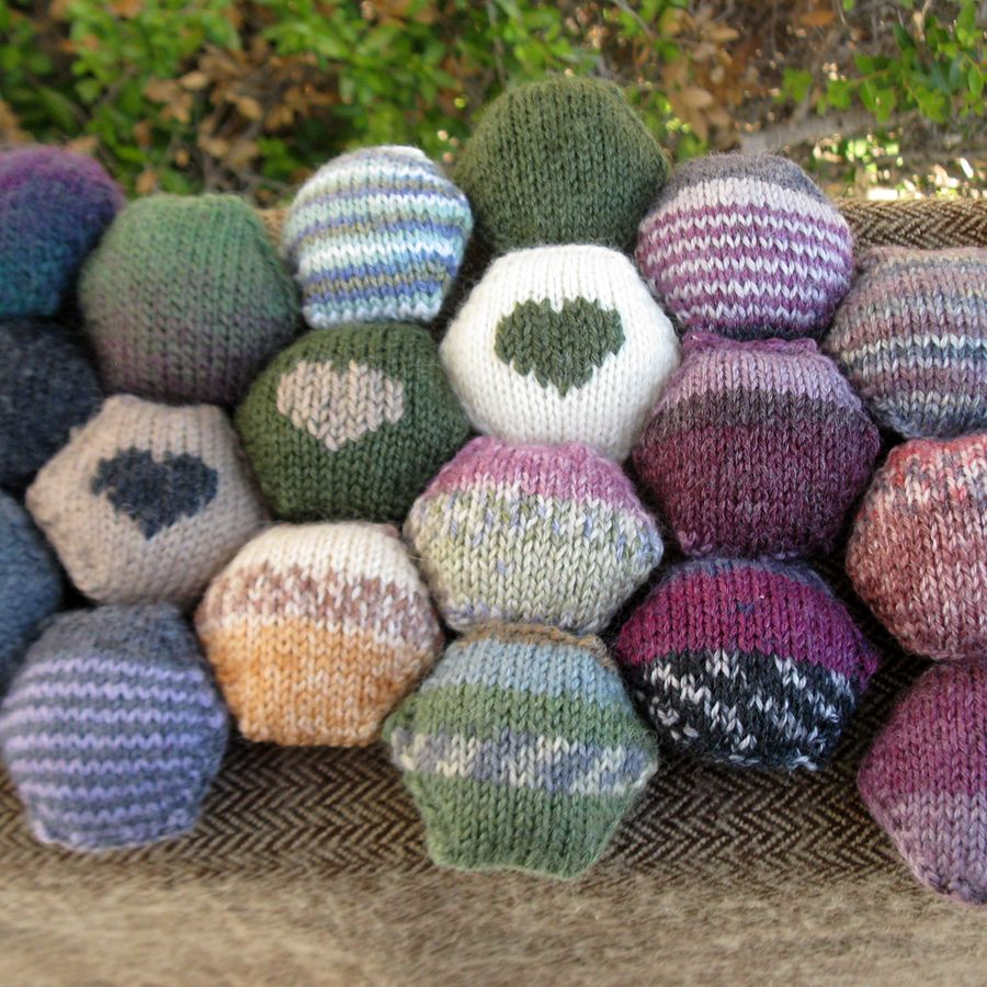 hexipuffs-greens.jpg (900×900) | knitting patterns | Pinterest ...