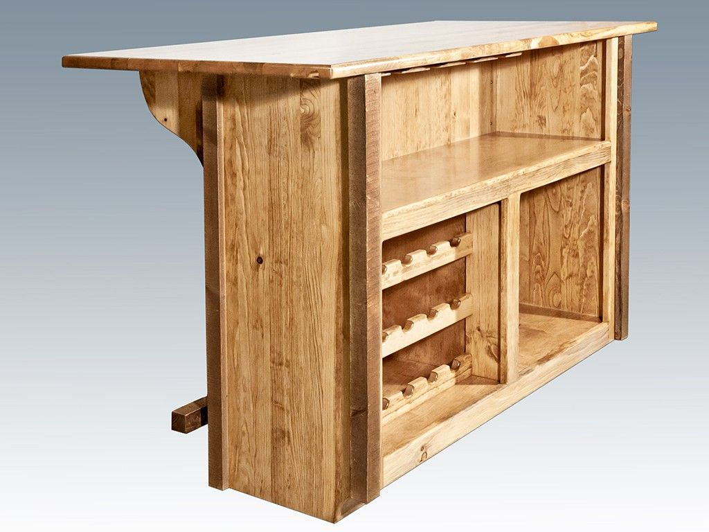 Homestead Barnwood Deluxe Bar with Foot Rail for my patio! | For the ...