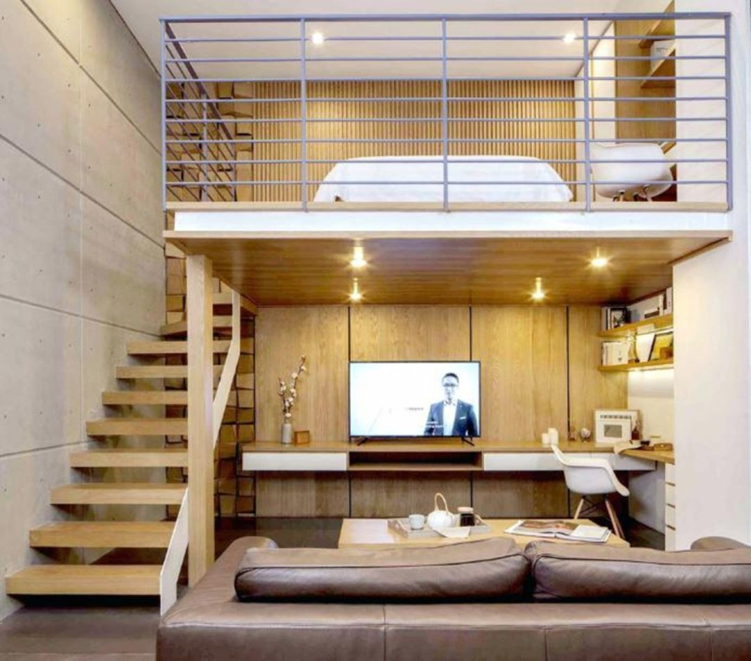 22 Beautiful Kitchen Design For Loft Apartment: 30 Beautiful Mezzanine Designs That Inspire To Expand Your