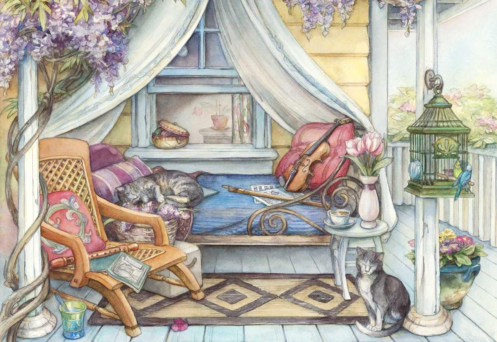 Kim Jacobs 絵 画 塗り絵
