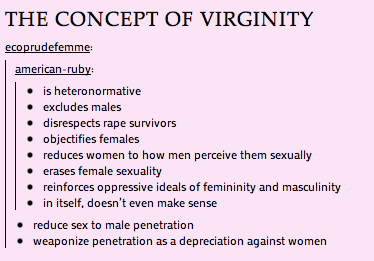 Statistics on when people lose virginity