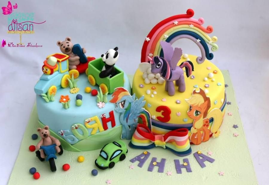 Cake For Brother And Sister By Ditsan With Images Cake Sister