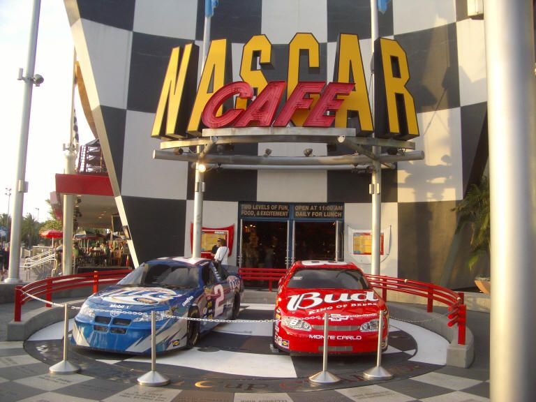 Nascar Cafe at City Walk in Orlando.