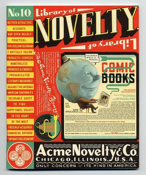 Acme Novelty Library #10 1998 (Jimmy Corrigan)