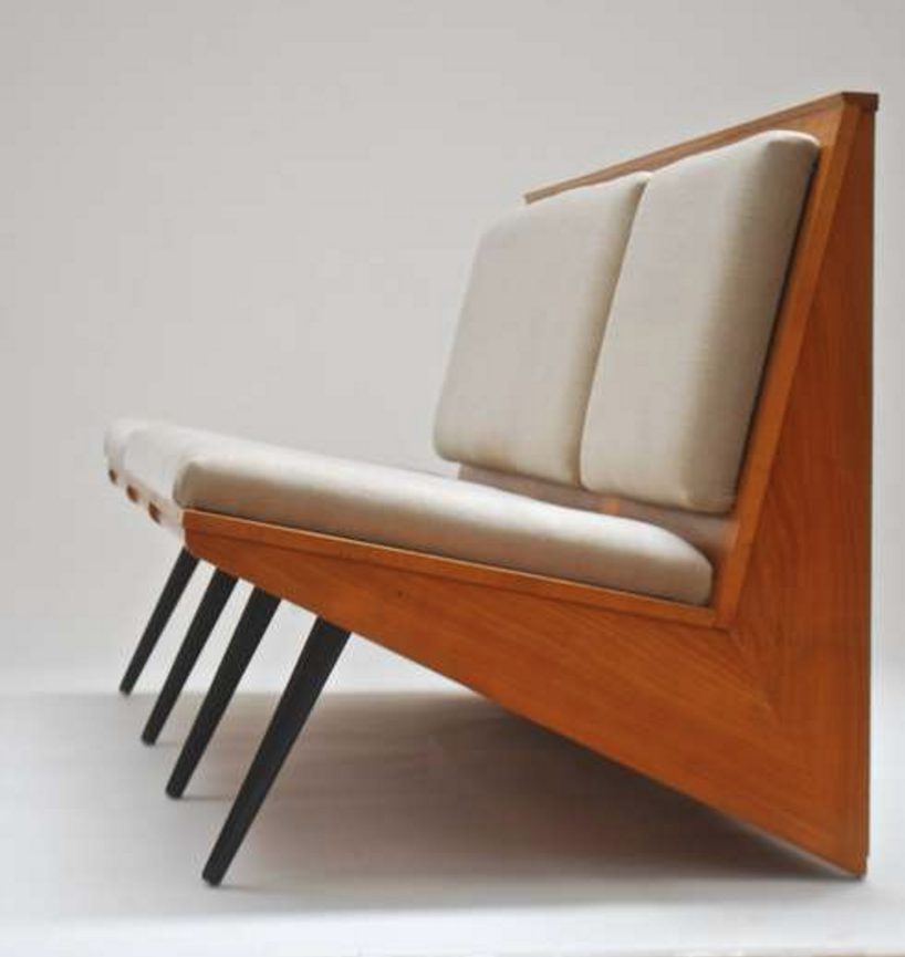 Georges Van Rijk Cherry Bench 1956 Mcm Design