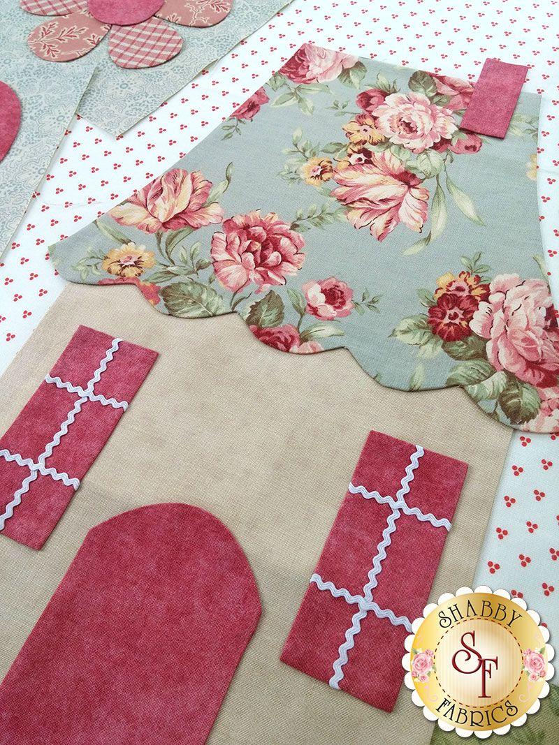 Shabby Fabrics quilt block 2015  c32954c925