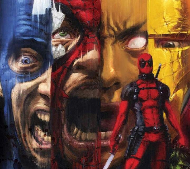 Pin On Deadpool, Spiderman, And Wolverine