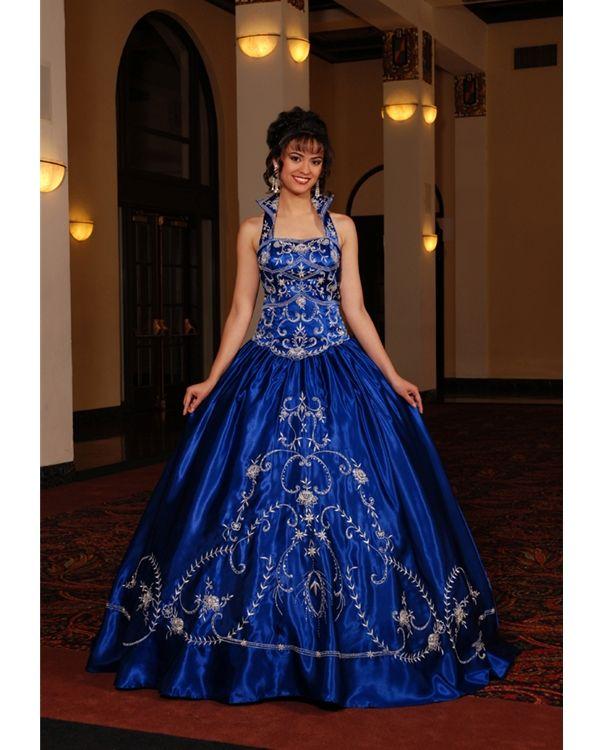 Royal Blue Wedding Dresses For The Bride