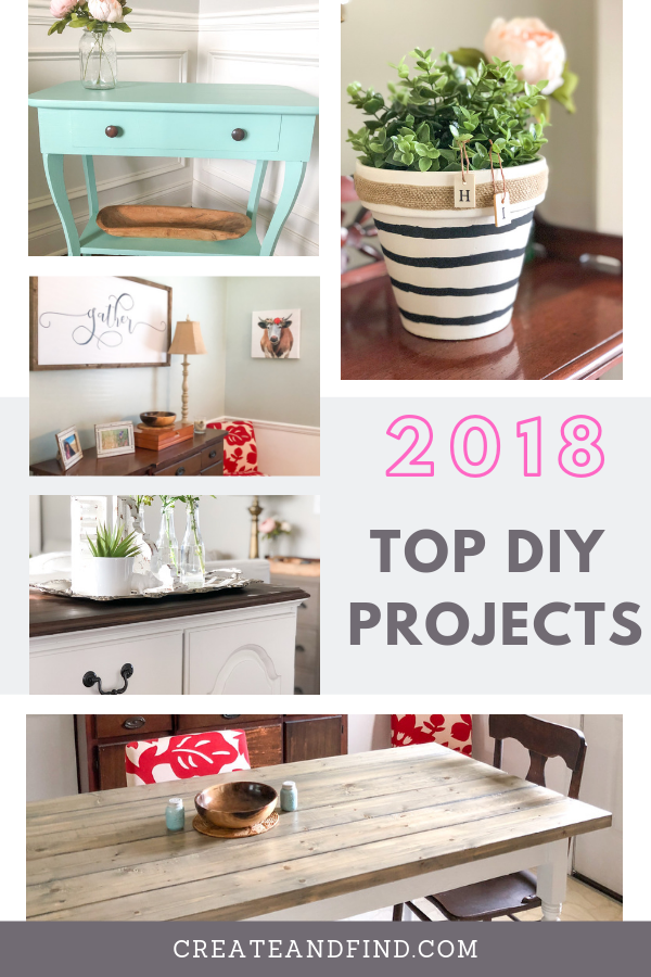 Favorite Diy Projects Of 2018 With Images Diy Projects Diy