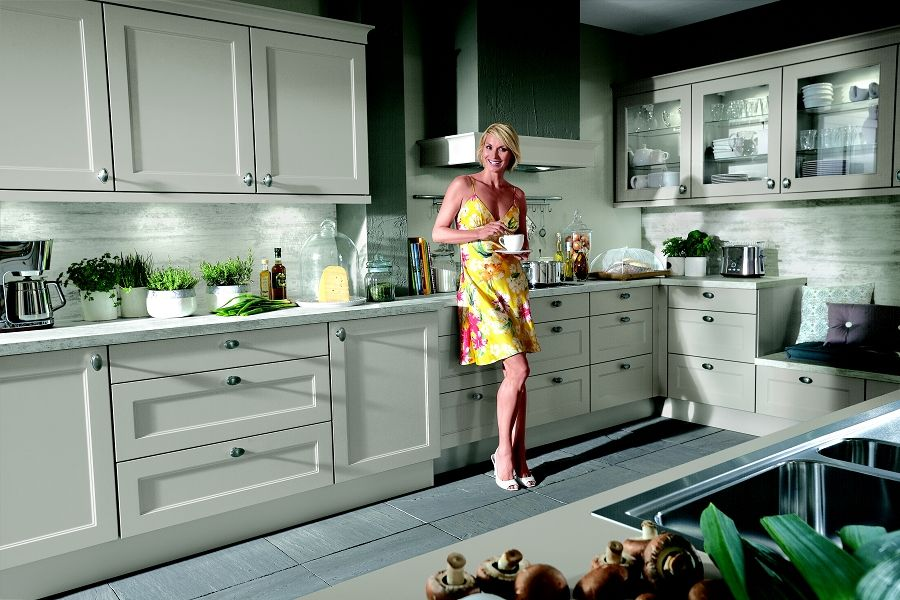 nobilia #kitchens from rowat \ gray in #London Our Shaker - nobilia k che pia