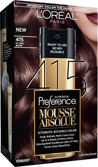 Mousse Absolue By L\'Oreal Paris 415 Icy Dark Brown | At home ...