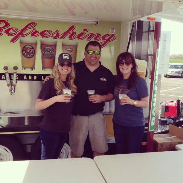 Some of our employees supporting the local restaurant association at Kauffman Stadium!