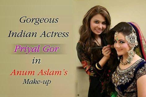 Kashee S Mehndi Makeup : Makeup indian actress having by kashee s beauty parlor